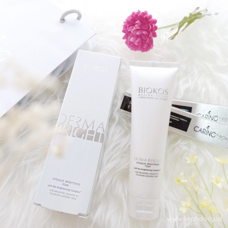 Review : Caring Automatic Eyeliner and BIOKOS Intensive Brightening Foam