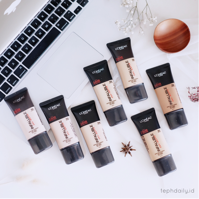 Loreal Paris Infallible Pro-Matte : Oily Skin Approved?