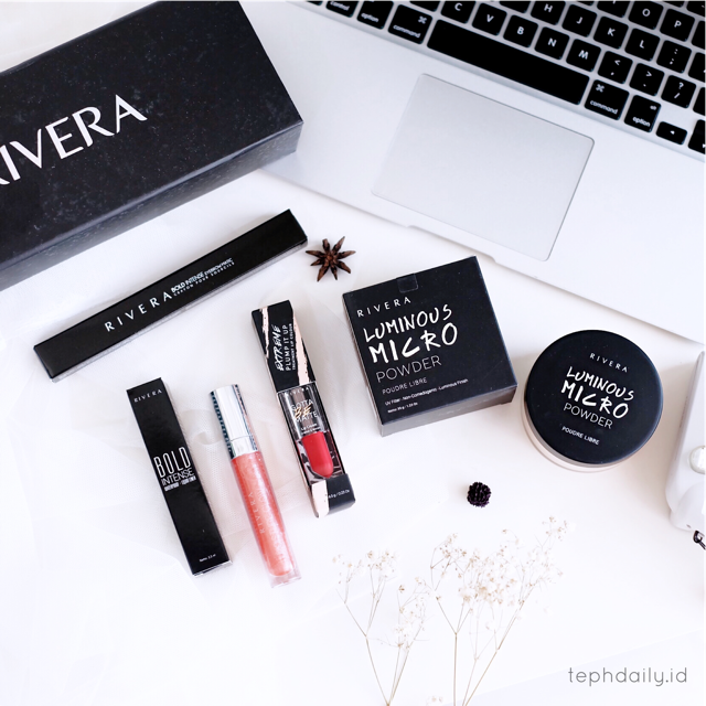 One Brand Make up Look : Rivera Cosmetics