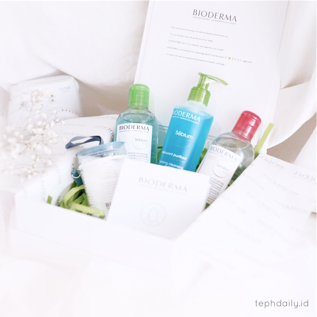 Oil and Acne Free, Worry Free : Bioderma Sebium Series