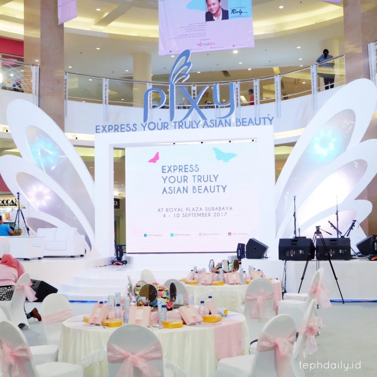 PIXY Event : Express your Truly Asian Beauty