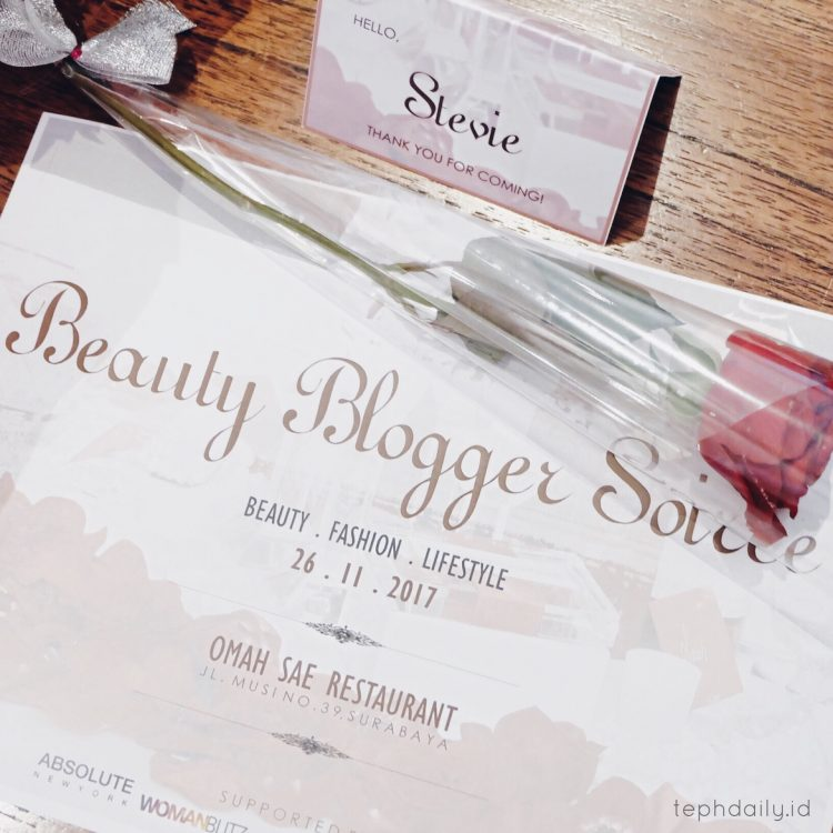 The Excitement of Surabaya Beauty Blogger Soiree I