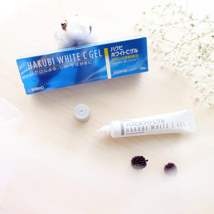 Best Skin Care of this Month – Sato Hakubi White C Gel